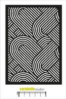 Carabelle Studio: Geometrie  A6 -sabluuna