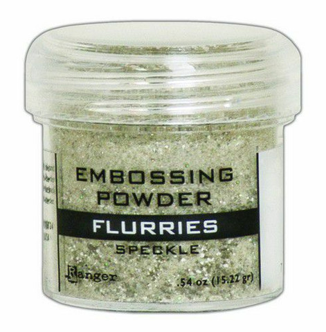 Ranger Embossing Powder: Flurries Speckle 34ml