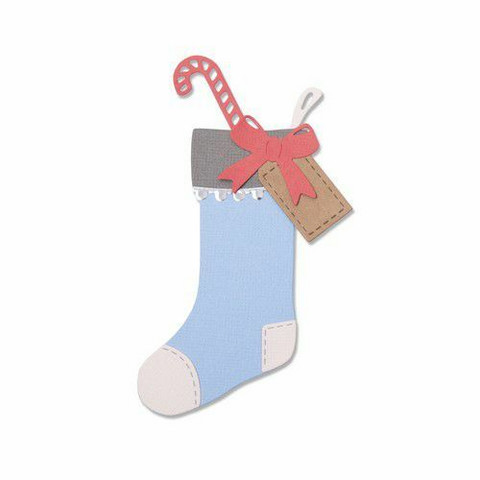 Sizzix Thinlits: Christmas Stocking -stanssisetti