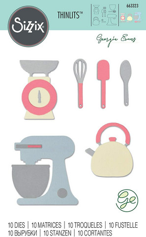 Sizzix Thinlits: Kitchen Set  -stanssisetti