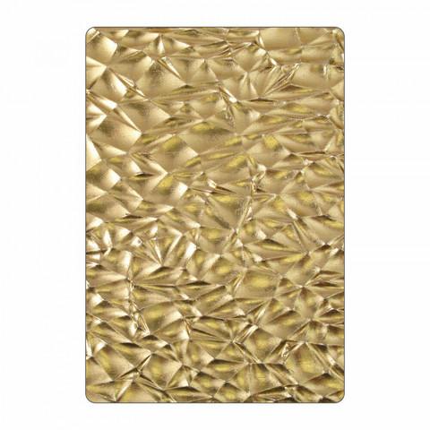 Sizzix 3D Texture Fades: Crackle  -kohokuviointikansio