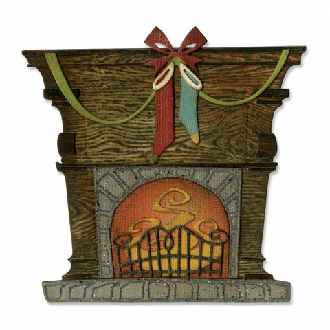 Sizzix Thinlits: Fireside  -stanssisetti
