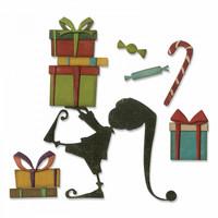 Sizzix Thinlits: Santa's Helper  -stanssisetti