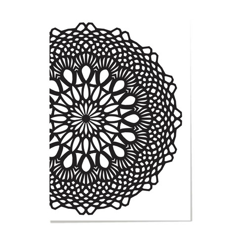 Kaisercraft: Crochet Doily - kohokuviointikansio
