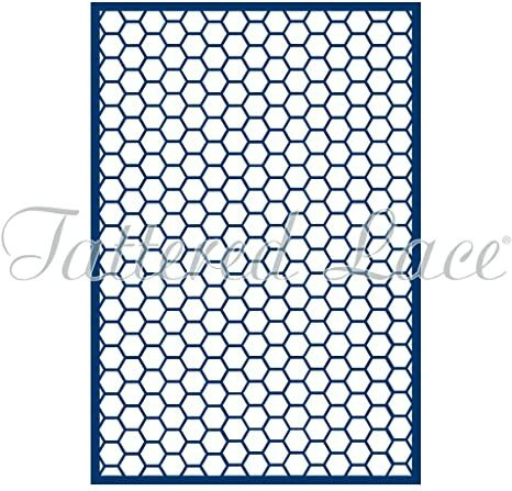 Tattered Lace: Honeycomb Panel -stanssisetti
