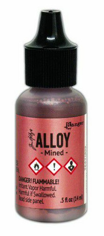 Ranger Tim Holtz Alcohol Ink Alloy 15 ml : Mined