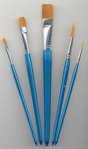 Hobby Brush Set Mixed 5 - sivellinpakkaus
