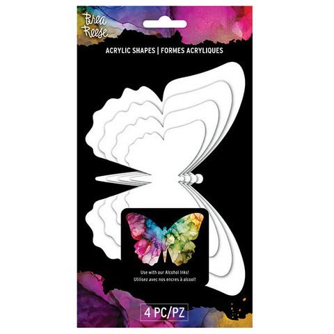 Brea Reese Acrylic Shapes: Butterflies