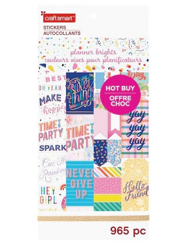 Craft Smart:  Planner Brights - iso tarrakirja