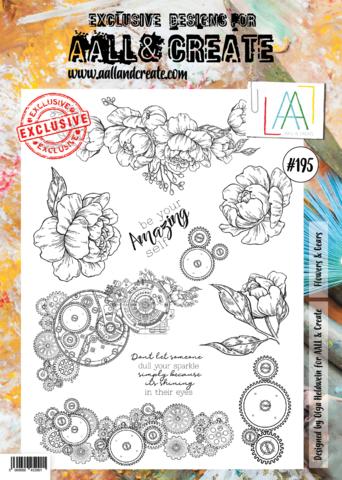 Aall & Create: Flowers & Gears  #195 - leimasinsetti