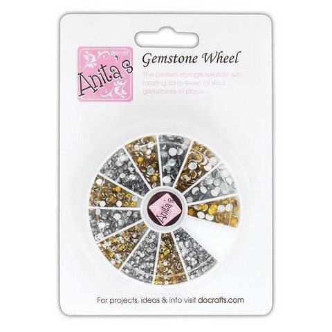 Anita's Gemstone Wheel: Gold & Silver