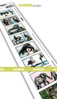 Carabelle Studio: Artist Trading Stamp - Des hommes et des animaux