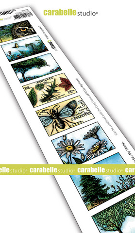 Carabelle Studio: Artist Trading Stamp - Aur Grand Air