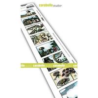 Carabelle Studio: Artist Trading Stamp - Walk In France