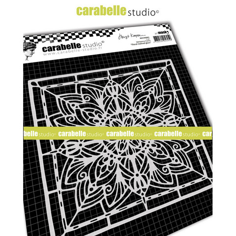 Carabelle Studio: Floral Stained Glass by Birgit Koopsen - maskisabluuna