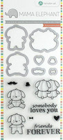 Mama Elephant Stamp & Die: Lovey Puppy