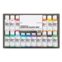 Darice: Assorted Matte Acrylic Paint Set - pakkaus
