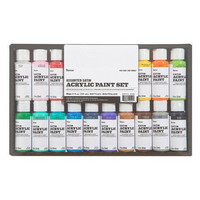 Darice: Assorted Satin Acrylic Paint Set - pakkaus