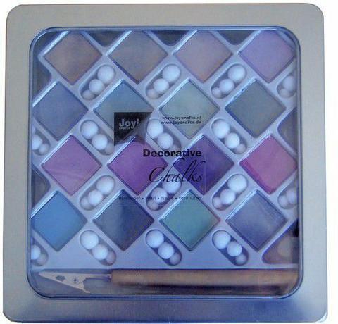 Joy Crafts Decorative Chalks: Pearl (helmiäissävyt) - liituvärit