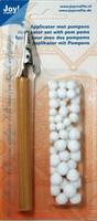 Joy Crafts Chalks Applicator with pompoms - työväline