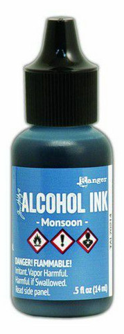 Ranger Tim Holtz Alcohol Ink 15 ml :  Monsoon