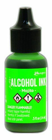 Ranger Tim Holtz Alcohol Ink 15 ml :  Mojito