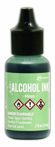 Ranger Tim Holtz Alcohol Ink 15 ml :  Moss