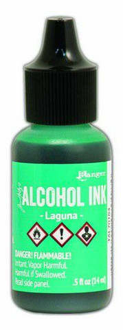 Ranger Tim Holtz Alcohol Ink 15 ml :  Laguna
