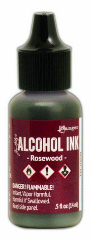 Ranger Tim Holtz Alcohol Ink 15 ml :  Rosewood