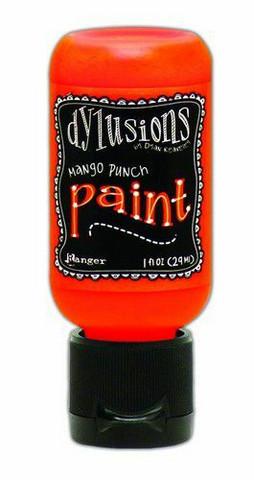 Ranger Dylusions Flip Cap: Mango Punch 29ml - akryylimaali