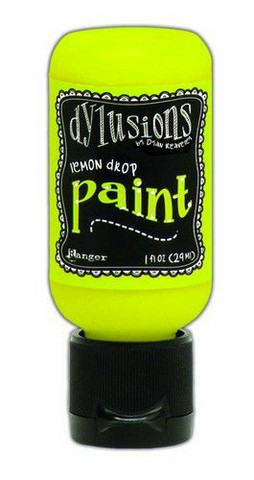 Ranger Dylusions Flip Cap: Lemon Drop 29ml - akryylimaali