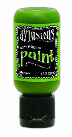 Ranger Dylusions Flip Cap: Dirty Martini 29ml - akryylimaali