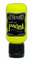 Ranger Dylusions Flip Cap: Lemon Zest 29ml - akryylimaali