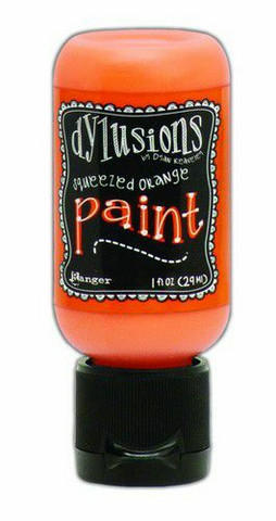 Ranger Dylusions Flip Cap: Squeezed Orange 29ml - akryylimaali