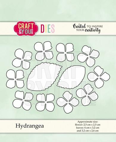 Craft & You: Hydrangea  -stanssisetti