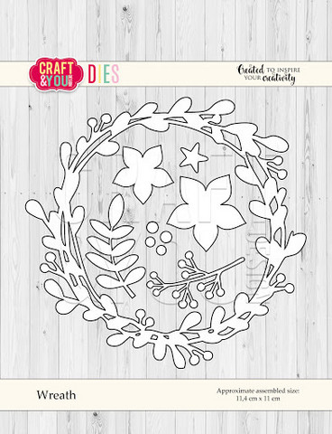 Craft & You: Wreath -stanssisetti