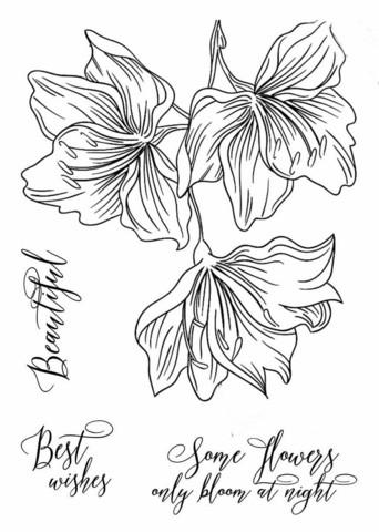13arts: Sky Flowers A7 - kirkas leimasinsetti
