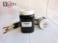 13arts Black Gesso 500 ml (iso purkki)