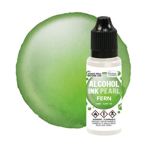 Couture Creations Alcohol Ink Pearl 12 ml :  Fern - alkoholimuste