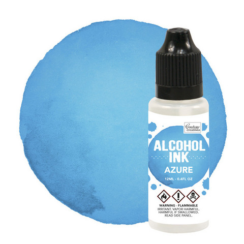 Couture Creations Alcohol Ink 12 ml :  Azure - alkoholimuste