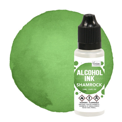 Couture Creations Alcohol Ink 12 ml :  Shamrock - alkoholimuste