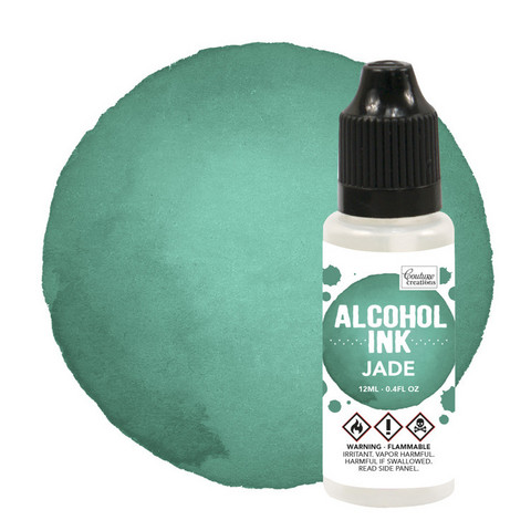 Couture Creations Alcohol Ink 12 ml :  Jade - alkoholimuste