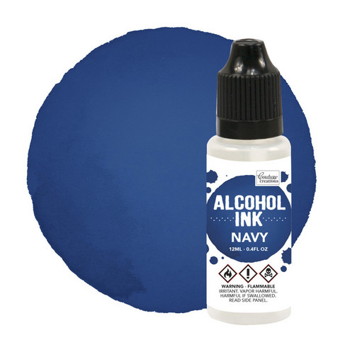 Couture Creations Alcohol Ink 12 ml :  Navy - alkoholimuste