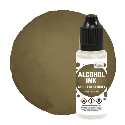 Couture Creations Alcohol Ink 12 ml :  Mochachino - alkoholimuste