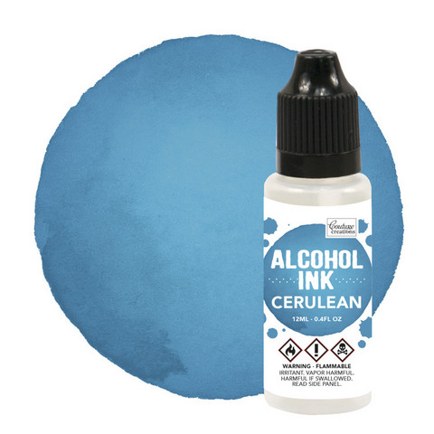 Couture Creations Alcohol Ink 12 ml :  Cerulean - alkoholimuste