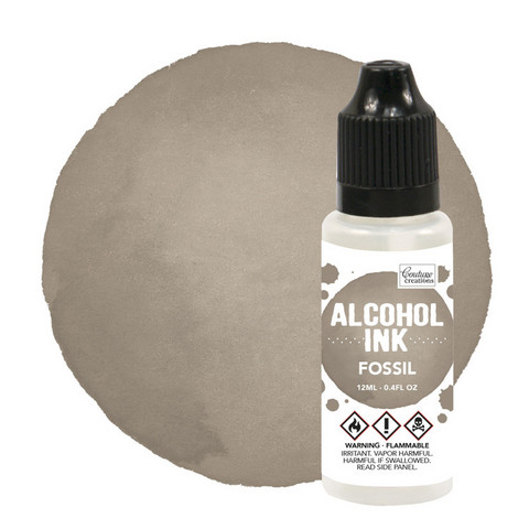 Couture Creations Alcohol Ink 12 ml :  Fossil - alkoholimuste