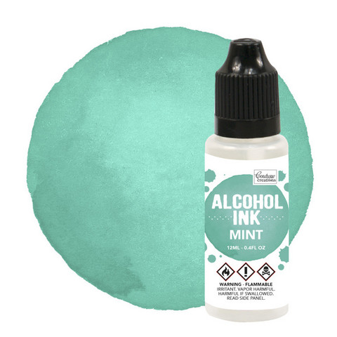 Couture Creations Alcohol Ink 12 ml :  Mint - alkoholimuste