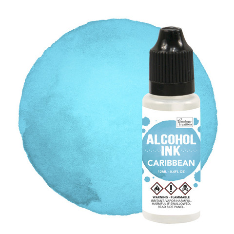 Couture Creations Alcohol Ink 12 ml :  Caribbean - alkoholimuste