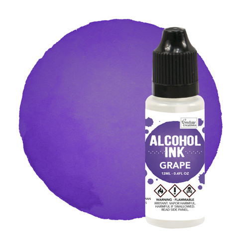 Couture Creations Alcohol Ink 12 ml :  Grape - alkoholimuste