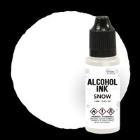 Couture Creations Alcohol Ink 12 ml :  Snow - alkoholimuste